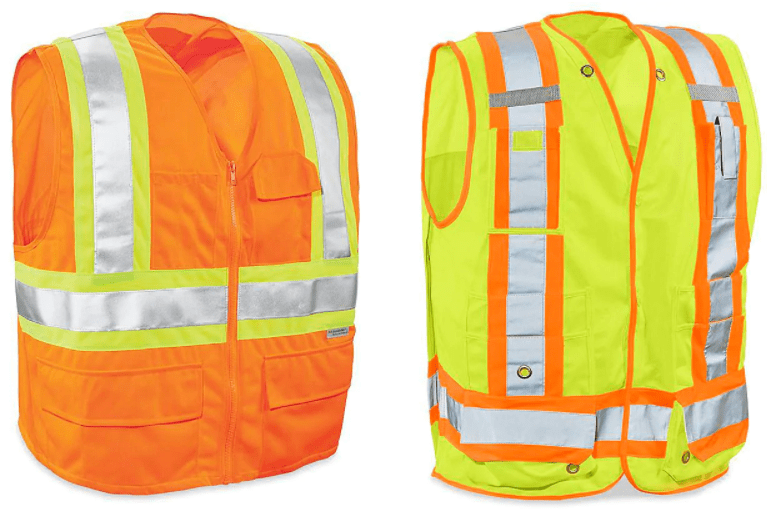 CLASS 2 DELUXE SAFETY VESTS